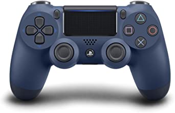 PlayStation 4 9874263 DualShock 4 Wireless Controller, Midnight Blue