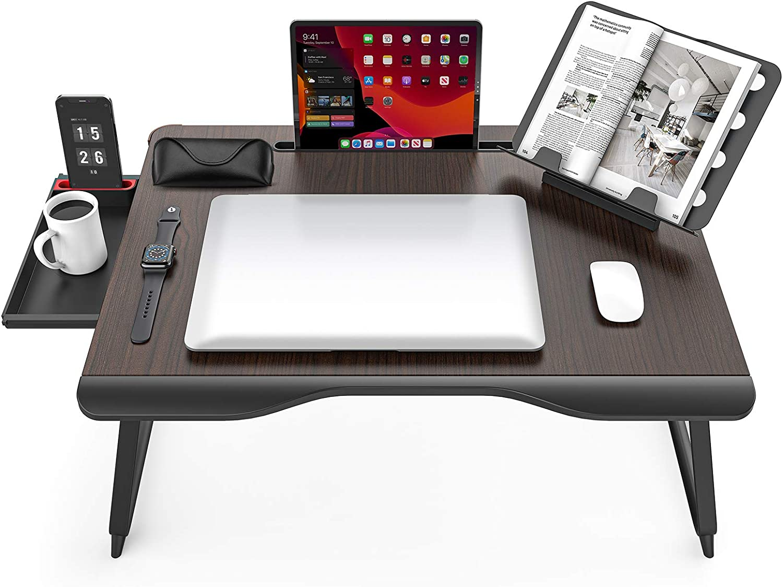 Extra XX-Large Laptop Desk shopping SAIJI Popular brand Folding Tray for Wri Bed Table