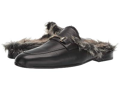 WALK London Jude Mule Fur (Black/Fur) Men