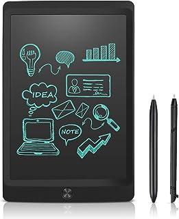8.5インチ 電子パッド 電子メモ 消去ロック機能搭載 電子メモパッド NEWYES デジタルメモ 電池交換可能 LCD液晶パネル ワンタッチ消去 ペン付き 筆談ボード お絵かき 計算 単語帳 学習 打ち合わせ 伝言板 大人気ギフト 一年安心保証 (黒)