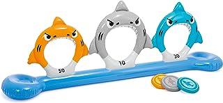 Intex - Juego hinchable tiburones y discos, 267 x 51 x 91 cm (57501NP)