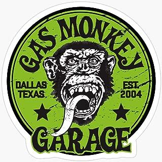 WillettaStore Green Monkey Stickers (3 Pcs/Pack)