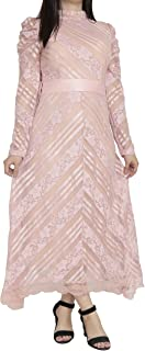 Mlbas_064-$P Women's Long Sleeve Dress