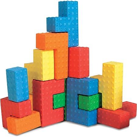 Years Details about  /Blocks Set Edushape Jumbo Textured 32 Pieces 1