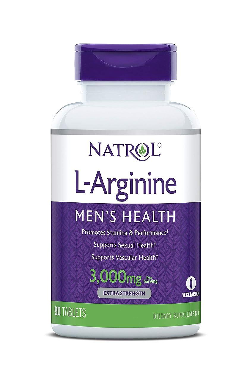 住人リラックスした推進Natrol - L-アルギニン 3000 mg 90錠