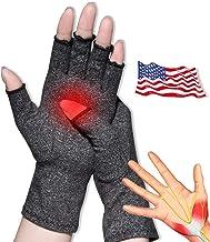Arthritis Gloves, Guantes Anti Artritis, para aliviar la osteoartritis reumatoide y el dolor del túnel carpiano, Guantes de Compresión para Mecanografía Informática y Trabajo Diario(Gris,Extra Grande)