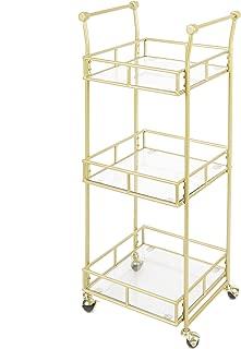 SilverwoodCollier 3-Tier Square Bar Cart