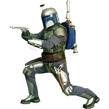 Star Wars Movie Art vinyl sticker decal Mandalorian Bounty Hunter Boba Fett