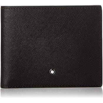 Montblanc Sartorial Men's Medium Leather Wallet 6CC 113216