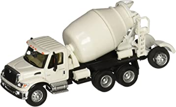 Walthers SceneMaster International, White 7600 3-Axle Cement Mixer