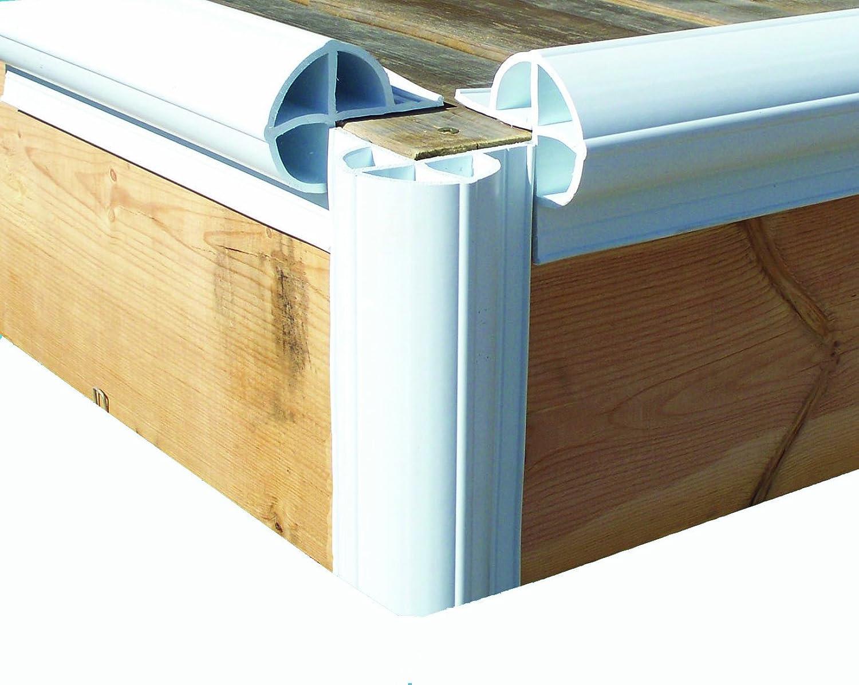 Dock Edge Premium PVC Dock Bumper Corner Edge Profile (Two 8