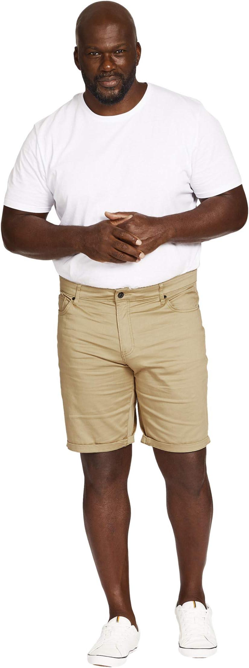 Johnny Bigg Big & Tall Marshall Elastic Chino Shorts 5Xa7o