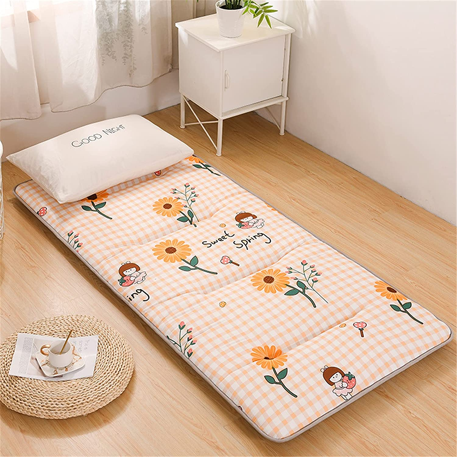 Futon Mattress 5cm Thick Foldable Sale SALE% OFF Floor N OFFicial site Topper Tatami