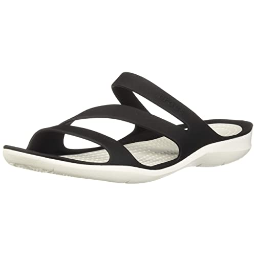 816d4ee66f5b Black and White Sandals  Amazon.com