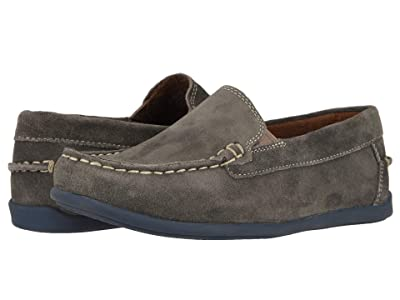 Florsheim Kids Jasper Venetian Jr. (Toddler/Little Kid/Big Kid) (Gray Suede) Boys Shoes