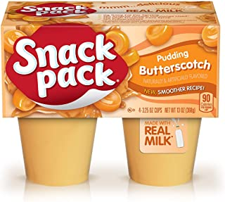 Snack Pack Pie Pudding Cups, Butterscotch, 13 oz (4 ct)