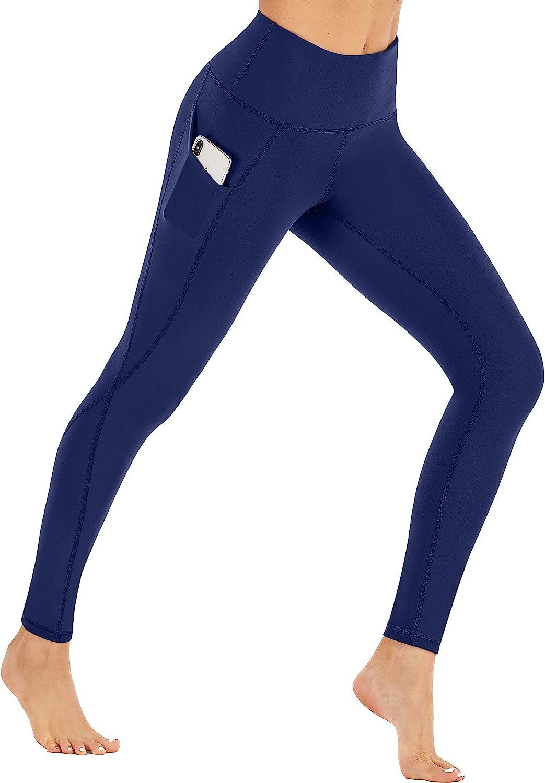 Winter Leggings for Women High Waisted Thermal Workout Leggings Ewedoos Fleece Lined Leggings with Pockets for Women