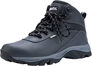 Leisfit Men`s Outdoor Waterproof Hiking Boots Insulated Boots Work Boots Trekking Boots