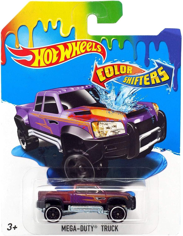 2016 Hot Wheels color Shifters MegaDuty Truck