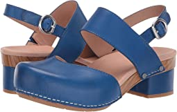 Cobalt Burnished Calf