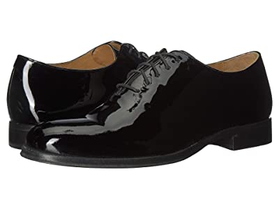 Cole Haan Gramercy Wholecut Dress Oxford (Black Patent) Men