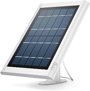 Ring solcellspanel för Spotlight Cam Battery och Stick Up Cam Battery – ser till att säkerhetskameran alltid är laddad   vit