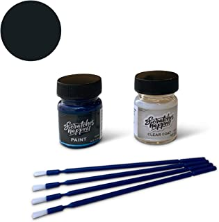 ScratchesHappen Exact-Match Touch Up Paint Kit Compatible with Ford Shadow Black Low Gloss (PN2BG) - Essential