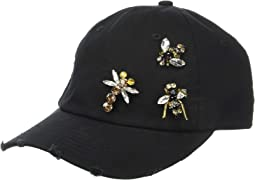 CTH8273 - Jeweled Bug Cap