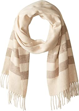 Wool Blanket Stripe Scarf