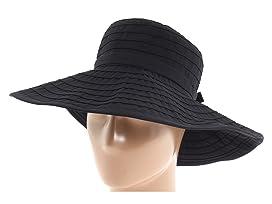 RBL299 Crushable Ribbon Floppy Hat