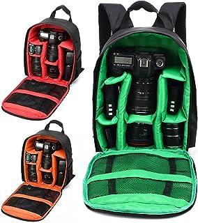 Tasche f/ür professionelle Spiegelreflexkamera schwarz f/ür Canon EOS 4000D M50 M6 200D 1300D 1200D 1500D 77D 800D 80D Nikon D3400 D5300 760D 750D 700D 600D 550D
