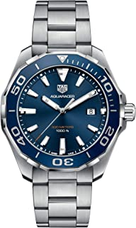 TAG Heuer Aquaracer Blue Dial 43mm Men's Watch WAY101C.BA0746