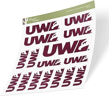 University of Wisconsin La Crosse UWLAX Eagles NCAA Vinyl Decal Laptop Water Bottle Car Scrapbook Sticker - 00001A