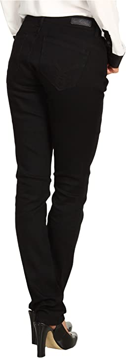 Powerstretch Curvy Skinny Denim in Black