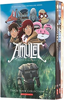 Amulet Box Set: Books 1-3