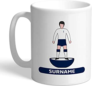 Tottenham Hotspur Official Personalized Player FC Figure Mug - Free Personalisation