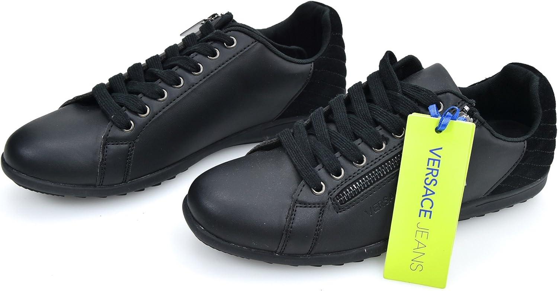 Versace Jeans Man skor skor skor skor svart kod E0GQBSC2  grossistpriser