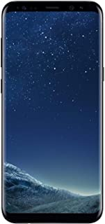 Samsung Galaxy S8 Plus Unlocked 64GB (Midnight Black) - (Renewed)