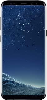 Samsung Galaxy S8 Plus Unlocked 64GB (Midnight Black) - (Renewed)