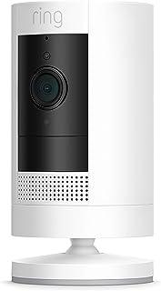 Ring Stick Up Cam Battery | HD-säkerhetskamera med tvåvägskommunikation | 30 dagars kostnadsfri provperiod på Ring Protect...