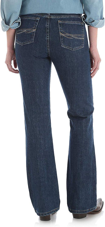 Wrangler Women's As Real As Wrangler Classic Fit Boot Cut Jean