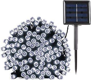 BrizLabs Guirnalda Luces Exterior Solares, 22M 200 LED