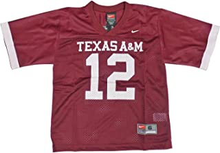 NIKE Texas A&M Aggies (University of) Kids/Youth College Football Jersey Size 6 Red