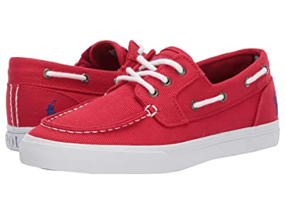 Polo Ralph Lauren Kids Bridgeport (Big Kid) (Red Heavy Twill/Blue Pony) Boy