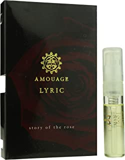 Amouage 'Lyric' Eau De Parfum Spray For Man 0.05oz Carded Vial (OriginalFormula)