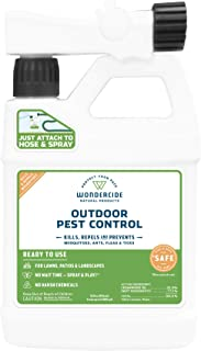 Wondercide EcoTreat Natural Ready-to-Use Outdoor Pest Control Spray – Mosquito and Insect Killer, Treatment, and Repellent – Safe for Pets, Plants, Kids - 32 oz
