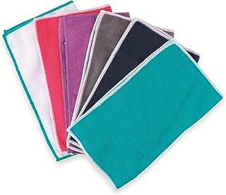 Lifetime Clean Microfibre Cloths 30 x 30 Assorted Colours 6 Pieces