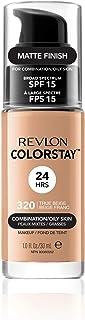 Revlon ColorStay Makeup Foundation for Combination/Oily Skin, 30ml, 320 True Beige