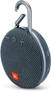 JBL Clip 3 Portable Bluetooth Speaker, Blue - JBLCLIP3BLU