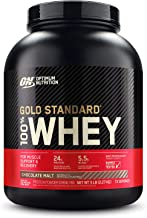 Optimum Nutrition Gold Standard 100% Whey Protein Powder, Chocolate Malt, 5 Pound (Packaging May Vary)